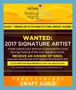 CSFOA – Wanted: 2017 Signature Artist