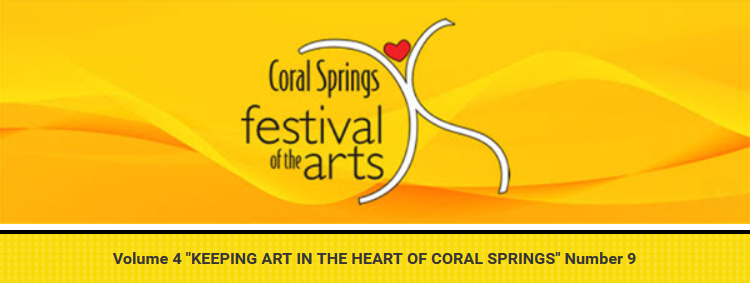 Special Events Announced for 2020 Coral Springs Festival of the Arts